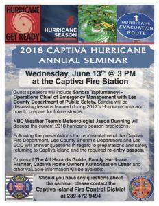 Hurricane Seminar 2018